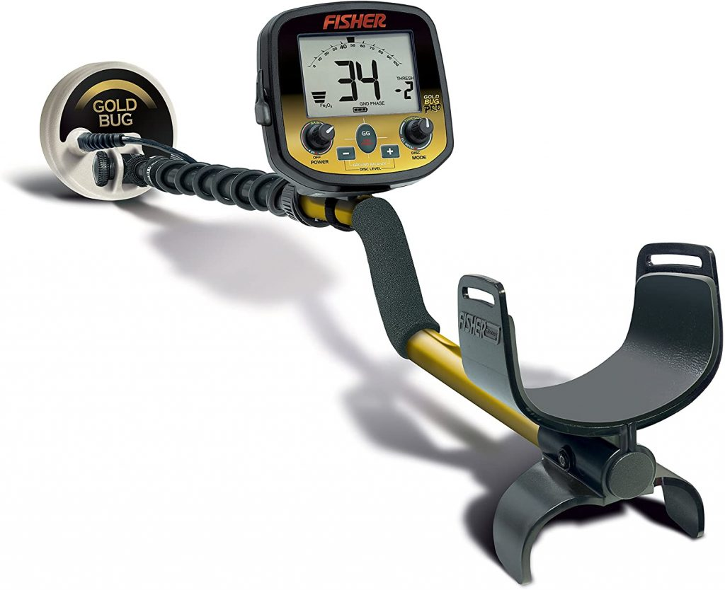Fisher Gold Bug Pro is a best gold detector which has 19kHz Operating Frequency with low cost.