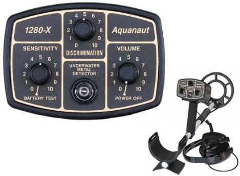 Fisher 1280-X Aquanaut is one of the best underwater metal detector with low price and extra features.