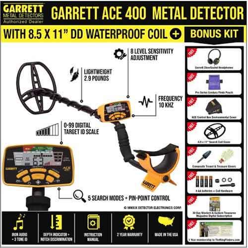 Garrett ACE 400 vs 300