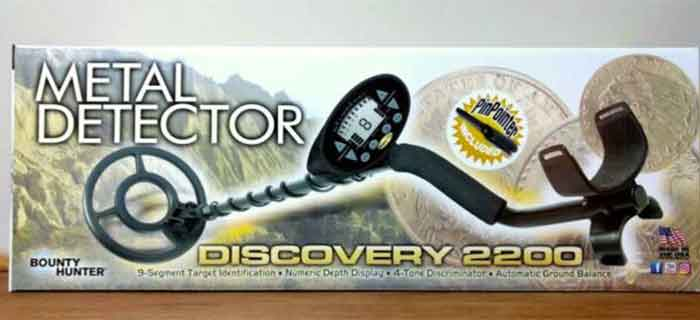 Elite 2200 metal detector has electromagnetic interference which is a very important feature for an metal detector.
