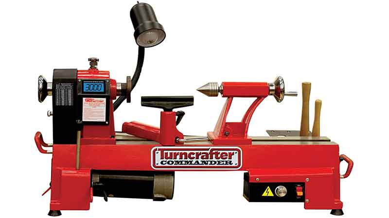 PSI Woodworking KWL-1018VS Turn craft Commander is one of the best Mini Wood Lathe
