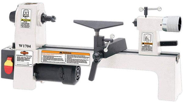 SHOP FOX W1704 1 / 3Horsepower benchtop lathe is one of the best Mini Wood Lathe