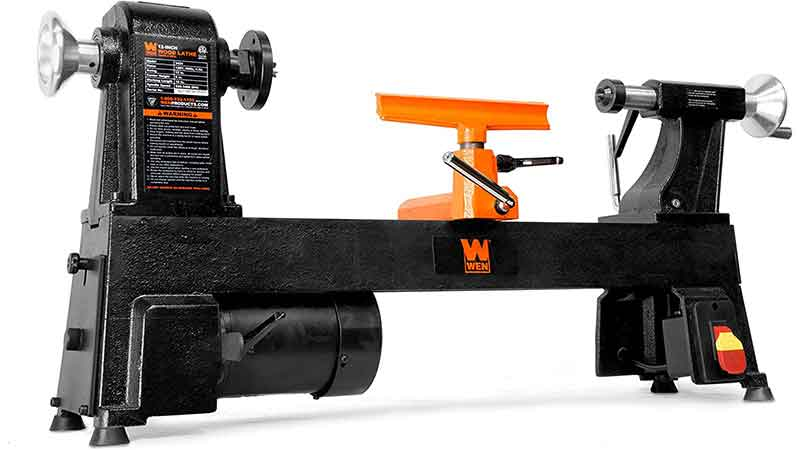 WEN 3424T 4.5-amp 12inch by 18 inch 5 speed benchtop wood lathe is one of the best Mini Wood Lathe