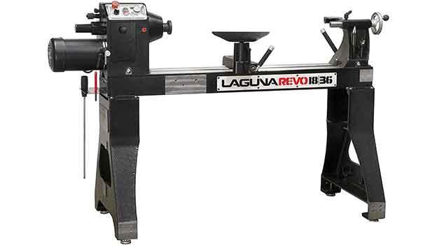 Laguna Revo 1836: With High Horsepower is the best beginner wood lathe.