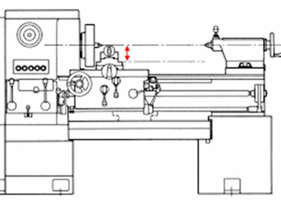 what is lathe swing